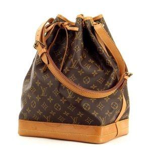 "Louis Vuitton NoeBag Approx Height: 13"" Width: 15"""